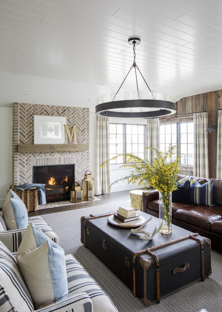 Langley Fireplace room design