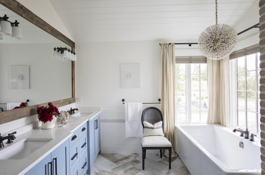 Langley Master Bath design